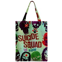 Panic! At The Disco Suicide Squad The Album Zipper Classic Tote Bag by Onesevenart