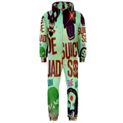 Panic! At The Disco Suicide Squad The Album Hooded Jumpsuit (men)  by Onesevenart