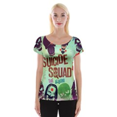 Panic! At The Disco Suicide Squad The Album Women s Cap Sleeve Top by Onesevenart