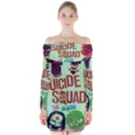 Panic! At The Disco Suicide Squad The Album Long Sleeve Off Shoulder Dress