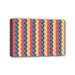Colorful Chevron Retro Pattern Mini Canvas 6  x 4