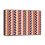 Colorful Chevron Retro Pattern Deluxe Canvas 18  x 12