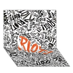 Paramore Is An American Rock Band Apple 3d Greeting Card (7x5) by Onesevenart