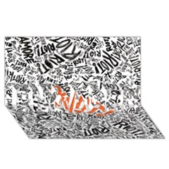 Paramore Is An American Rock Band Engaged 3d Greeting Card (8x4) by Onesevenart