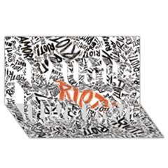Paramore Is An American Rock Band Laugh Live Love 3d Greeting Card (8x4) by Onesevenart