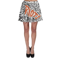 Paramore Is An American Rock Band Skater Skirt by Onesevenart