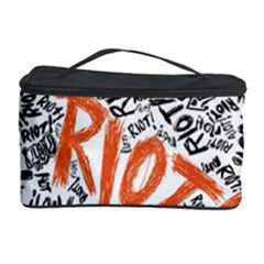 Paramore Is An American Rock Band Cosmetic Storage Case by Onesevenart