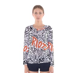 Paramore Is An American Rock Band Women s Long Sleeve Tee by Onesevenart