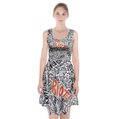 Paramore Is An American Rock Band Racerback Midi Dress by Onesevenart