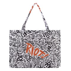 Paramore Is An American Rock Band Medium Tote Bag by Onesevenart