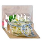 1 Kartoffelsalat Einmachglas 2 TAKE CARE 3D Greeting Card (7x5)