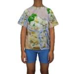 1 Kartoffelsalat Einmachglas 2 Kids  Short Sleeve Swimwear