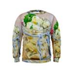 1 Kartoffelsalat Einmachglas 2 Kids  Sweatshirt