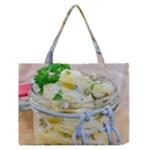 1 Kartoffelsalat Einmachglas 2 Medium Zipper Tote Bag