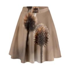 2  Verwelkte Kugeldistel High Waist Skirt by wsfcow