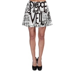 Pierce The Veil Music Band Group Fabric Art Cloth Poster Skater Skirt by Onesevenart