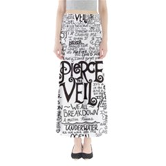 Pierce The Veil Music Band Group Fabric Art Cloth Poster Maxi Skirts by Onesevenart
