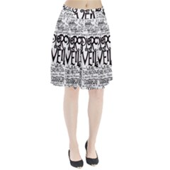Pierce The Veil Music Band Group Fabric Art Cloth Poster Pleated Skirt by Onesevenart