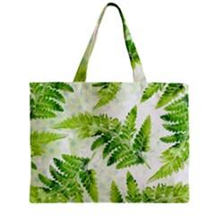 Fern Leaves Mini Tote Bag by DanaeStudio