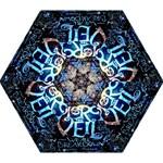 Pierce The Veil Quote Galaxy Nebula Mini Folding Umbrellas