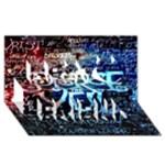 Pierce The Veil Quote Galaxy Nebula Best Friends 3D Greeting Card (8x4)