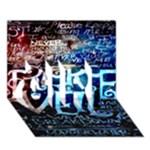 Pierce The Veil Quote Galaxy Nebula GIRL 3D Greeting Card (7x5)
