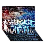 Pierce The Veil Quote Galaxy Nebula YOU ARE INVITED 3D Greeting Card (7x5)