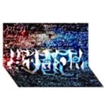 Pierce The Veil Quote Galaxy Nebula #1 MOM 3D Greeting Cards (8x4)