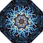 Pierce The Veil Quote Galaxy Nebula Hook Handle Umbrellas (Small)
