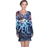Pierce The Veil Quote Galaxy Nebula Long Sleeve Nightdress