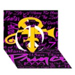 Prince Poster Peace Sign 3D Greeting Card (7x5)