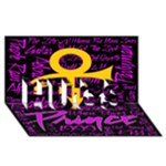 Prince Poster HUGS 3D Greeting Card (8x4)