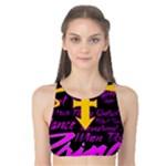Prince Poster Tank Bikini Top