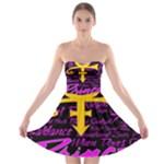 Prince Poster Strapless Bra Top Dress