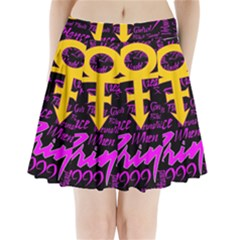 Prince Poster Pleated Mini Skirt by Onesevenart