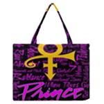 Prince Poster Medium Zipper Tote Bag
