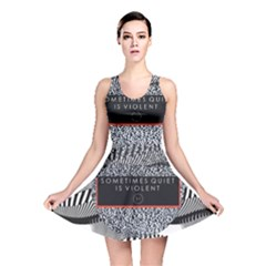 Sometimes Quiet Is Violent Twenty One Pilots The Meaning Of Blurryface Album Reversible Skater Dress by Onesevenart