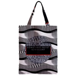 Sometimes Quiet Is Violent Twenty One Pilots The Meaning Of Blurryface Album Zipper Classic Tote Bag by Onesevenart