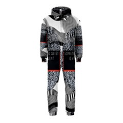 Sometimes Quiet Is Violent Twenty One Pilots The Meaning Of Blurryface Album Hooded Jumpsuit (kids) by Onesevenart