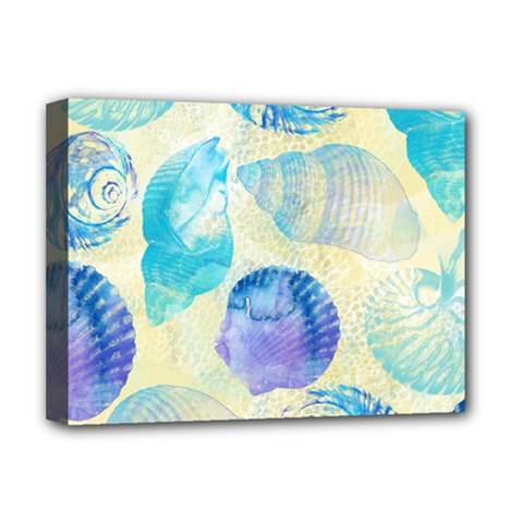 Seashells Deluxe Canvas 16  X 12   by DanaeStudio