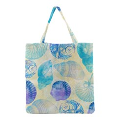 Seashells Grocery Tote Bag by DanaeStudio