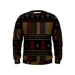 Tardis Doctor Who Ugly Holiday Kids  Sweatshirt