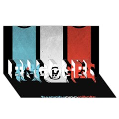 Twenty One 21 Pilots Engaged 3d Greeting Card (8x4) by Onesevenart