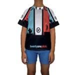 Twenty One 21 Pilots Kids  Short Sleeve Swimwear