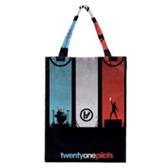 Twenty One 21 Pilots Classic Tote Bag by Onesevenart