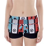 Twenty One 21 Pilots Boyleg Bikini Wrap Bottoms