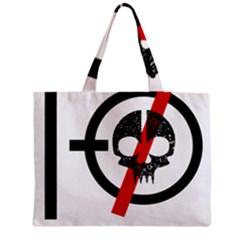 Twenty One Pilots Skull Zipper Mini Tote Bag by Onesevenart