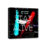 Twenty One Pilots Stay Alive Song Lyrics Quotes Mini Canvas 4  x 4