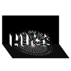Twenty One Pilots Hugs 3d Greeting Card (8x4) by Onesevenart