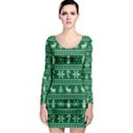Ugly Christmas Long Sleeve Bodycon Dress